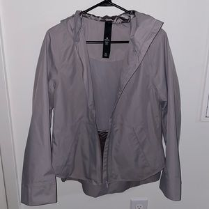 Lululemon Women's Size 6 Rain Jacket Gray